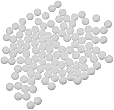 Baoblaze Foam Craft Balls 100 Pieces 15mm (0.59 inch) Polystyrene Spheres for Atomic Classes Craft Projects and Christmas ...