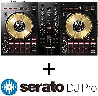 Pioneer DJ DJコントローラー DDJ-SB3-N + Serato DJ Proライセンス セット (オリジナルステッカー付き)