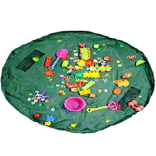 Nowest (ノウェスト) おもちゃマット レゴマット おもちゃ 片付け 収納袋 特大サイズ 片づけ簡単 (特大, ...