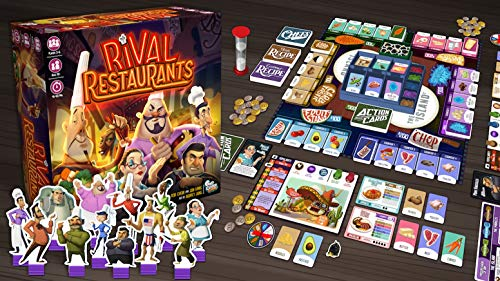 Gap Closer Games Rival Restaurants Board Game