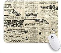 PATINISAマウスパッド レトール新聞パターン ゲーミング オフィス最適 高級感 おしゃれ 防水 耐久性が良い 滑り止めゴム底 ゲーミングなど適用 マウス 用ノートブックコンピュータマウスマット