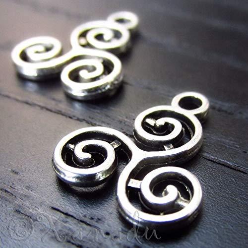 Celtic Triskelion Knot Wholesale Triskel Charm Pendants C6133