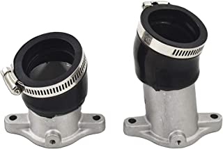 labwork Carburetor Intake manifolds CX500 w/Boots gaskets for Honda Carb Holders kit