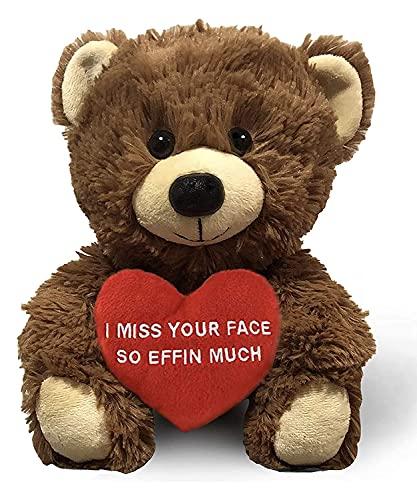 I Miss Your Face Teddy Bear