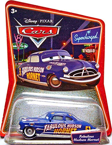 Disney Pixar Cars Supercharged Fabulous Hudson Hornet 1:55 Die Cast Car