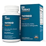 Dr. Tobias Thyroid Support Supplement, Vitamin and Herbal Blend, 60 Capsules