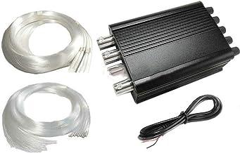 12 V 8 W Sterrenhemel Licht Motor Bron Twinkle & Meteor Schieten 2In1 + Glasvezelkabel Kit F/auto Thuis Dak Plafond Wandve...