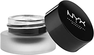 NYX Cosmetics Gel Eyeliner and Smudger, Betty Jet Black