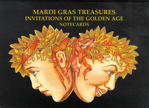 Image OfMardi Gras Treasures: Invitations Of The Golden Age Notecards: Invitations To The Golden Age Notecards