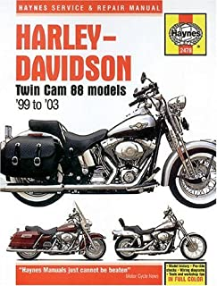 Harley-Davidson Twin Cam 88 Models '99 to '03 (Haynes Manuals)