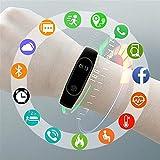 Reloj inteligente para niños, pulsera de fitness, reloj inteligente impermeable con Bluetooth recordatorio de movimiento, adecuado para niños y niñas compatible con iOS Android rosa