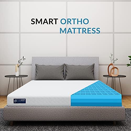 The Sleep Company SmartGRID Orthopedic 6 inch Mattress, King Size Bed (78x72x6 inch)