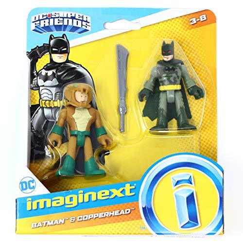Imaginext DC Super Friends Camo Suit Batman and Copperhead 2.5 Inch Figure 2 Pack