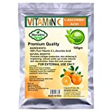 Meralite L-Ascorbic Acid Powder Vitamin C for Use in Serums and Cosmetic, 100