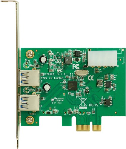 玄人志向 NEXTシリーズ PCI-Express x1接続 USB3.0増設インターフェースボード USB3.0-PCIE-P2