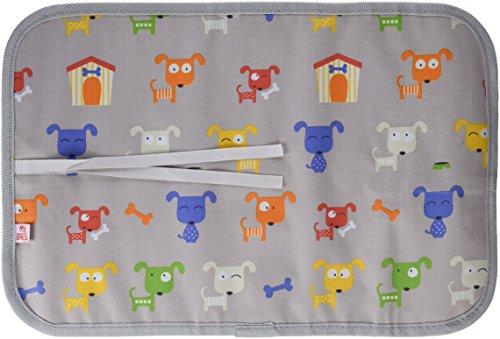 My Bags Dgdoggre - Pizarra de tela enrollable perritos, gris