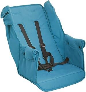 Joovy Caboose - Silla de paseo doble para asiento trasero de coche, plegable, no es necesario quitarlo, color turquesa