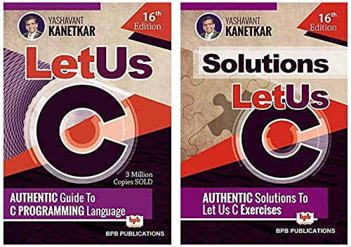 Let Us C 16th Edition - Main Book & Solutions (Set of 2 books)