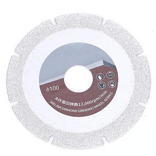 Disco Diamantato a Maglia da 60 mm 60, Ruote a Disco da Taglio in Ceramica per il Taglio di Piastrelle in Gres Porcellanato Pietra di Marmo, Lama da Taglio in Porcellana di Ceramica con Diamante
