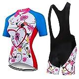 Jtoony-SP Damen-Fahrradbekleidung für den Sommer
