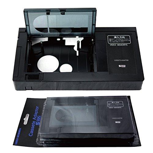 VHS VHS-C カセットアダプター アタッチメント VHS-C変換 思い出のデジタル保存