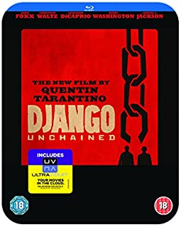 Django Unchained - Limited Edition Steelbook (Blu-ray + UV Copy) [2013] [Region Free] (B00BEGK356) | Amazon price tracker / tracking, Amazon price history charts, Amazon price watches, Amazon price drop alerts