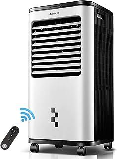 Aire Acondicionado Ventilador Hogar Móvil Pequeño Refrigerador Solo Ventilador Frío 14L Tanque De Agua Grande Aire Acondicionado