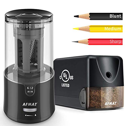 Horizontal and Vertical Electric Pencil Sharpener Plug in, PS13+PS92