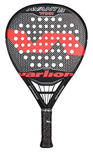 Varlion Avant H Difusor Titan - Pala de pádel, Unisex Adulto, Coral, 370-375 gr.