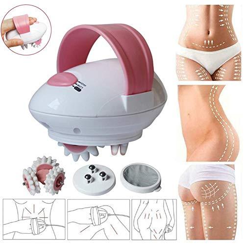 3D Roller Body Massaging Shaper, Elektrische Fettverbrennungs-Body-Massage-Rolle, Motorisiertes Rollen-Schlankheitsgerät, Cellulite-Massagegerät - Für Gesicht, Hals, Arm, Hand, Fuß Und Körper