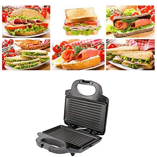 HCCX Fabricant Multi-Fonction Cafetière Électrique Mini Sandwich Sandwich Plaque BBQ Panini Grille-Pain Hamburger Steak Barbecue Machine Petit-Déjeuner
