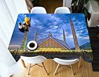 *家庭用テーブルクロス 長方形のテーブルクロス - 3DランドスケープシリーズテーブルクロスVC32-環境に優しく無味無し - デジタルプリントされた防水 耐久性 (Size : Rectangular -90cm*120cm)