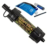 Sawyer Products SP107 MINI Water Filtration System, Single, Camo