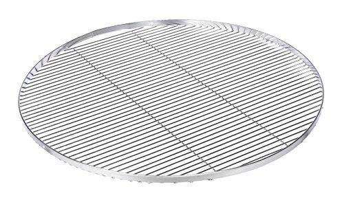 Grille ronde 80 cm en acier inoxydable avec 3 lames