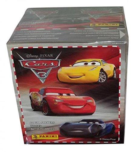 Cars 3- Caja con 50 cromos (Panini 003342BOX50E): Amazon.es ...