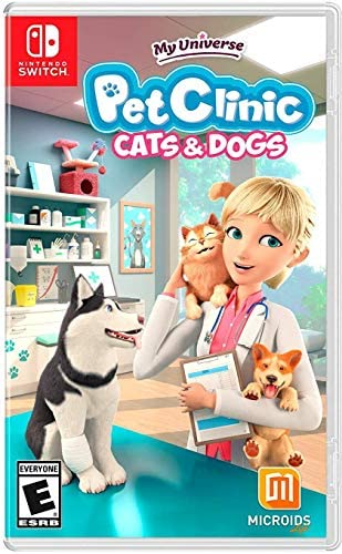 My Universe Pet Clinic Cats Dogs NSW Nintendo Switch product image