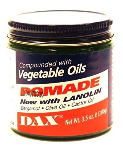 Dax Pomade (Bergamot) 3.5 Ounce Jar (103ml) (2 Pack)