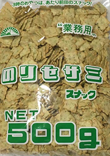 前田製菓 のりセサミスナック 500g (業務用)