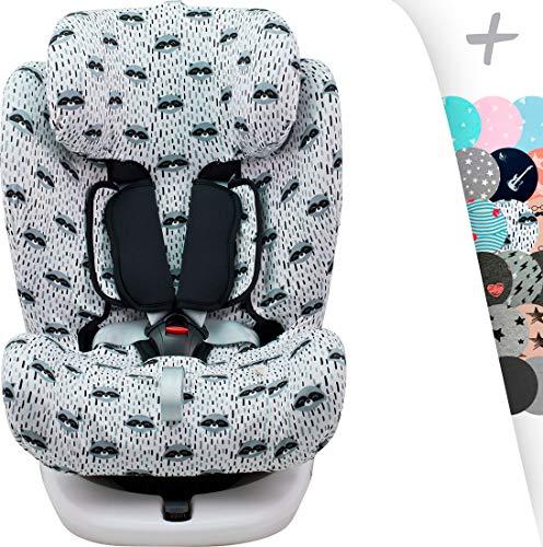 JANABEBE Funda para Star Ibaby, Baby Auto Fix Noe (RACCOON)
