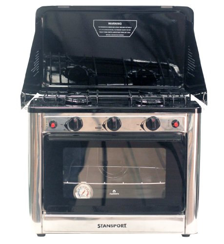 Stansport Propane Outdoor Camp Oven and 2 Burner Range