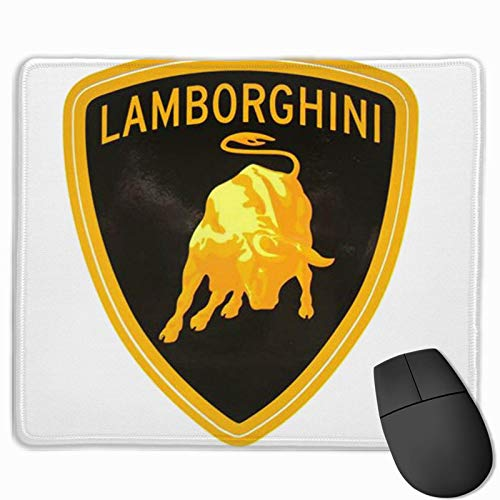 NA Alfombrilla de ratón Antideslizante l-amborghini Premium Mouse Pad para Consolas de Teclado de c