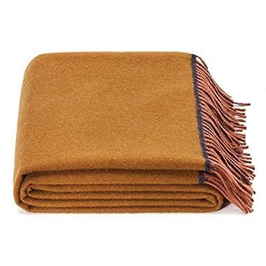 spencer & whitney Soft Blanket Wool Throw 100 Australian Wool Throw Blanket Fleece Light And Breathability Blanket Soft Throw