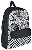VANS MARVEL WOMAN Backpack Real Black Schoolbag VN0A3QXCBLK VANS MARVEL Bags