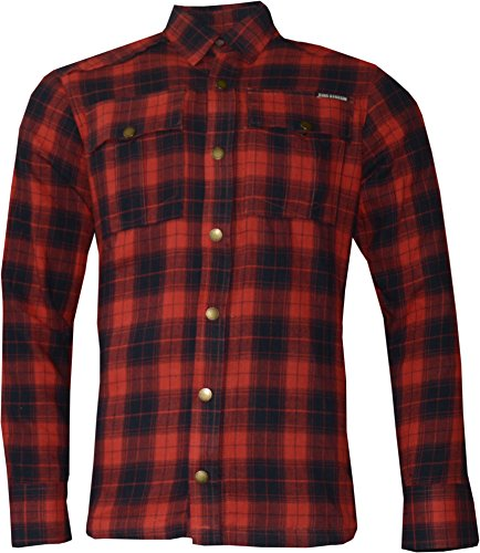 SPEEDSHIRT-2 - KEVLAR - RED-BLACK CHECK XL