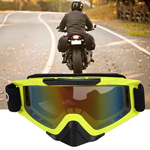 Bediffer Excelentes Gafas de Moda a Prueba de Viento a Prueba de Agua para Triciclo para Mejorar la Apariencia(Fluorescent Yellow)