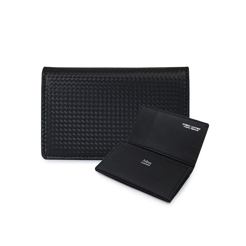 [ノイ インテレッセ] カードケース シャッテン メンズ 3874 【01】ブラック
