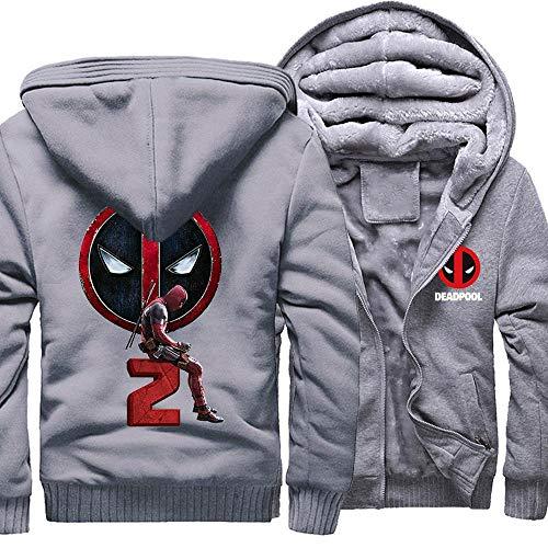 Susu Deadpool2 druk pullover winter casual sweatshirt met capuchon voor kinderen, baseball, ansichtkaarten, warme jassen met lange mouwen