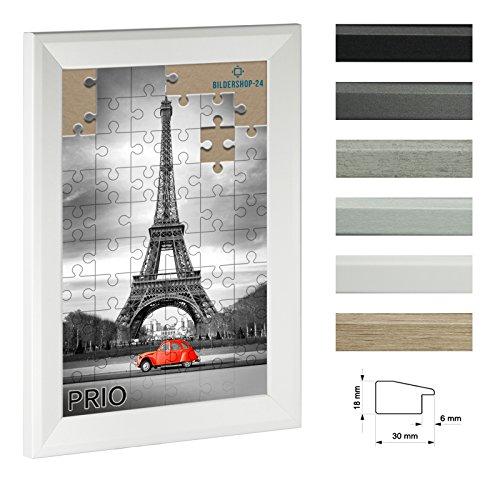 Bildershop-24 Puzzlerahmen PRIO 36x48cm Weiß (matt) für ca. 300-500 Teile