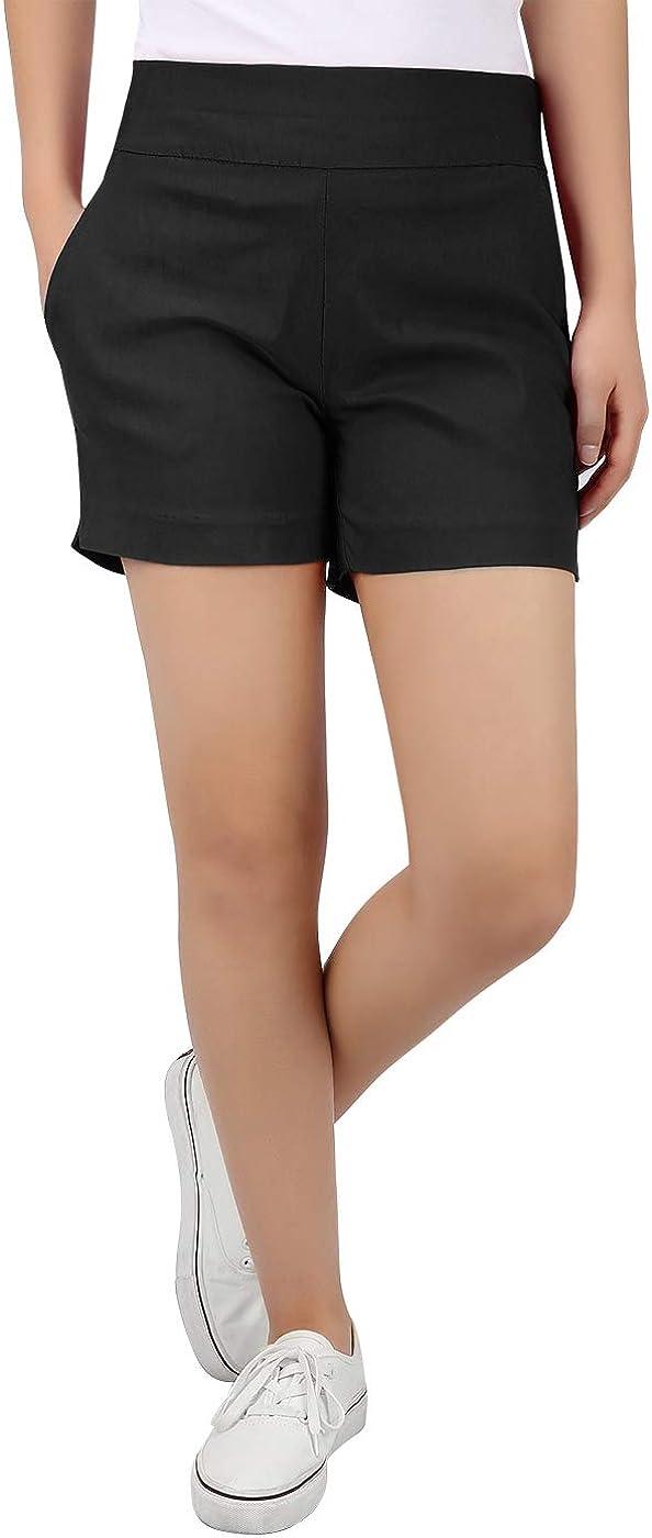 HDE Chino Shorts for Women 4