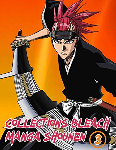 Manga Shounen Bleach Deluxe : Bleach Manga Full Vol 3 (English Edition)